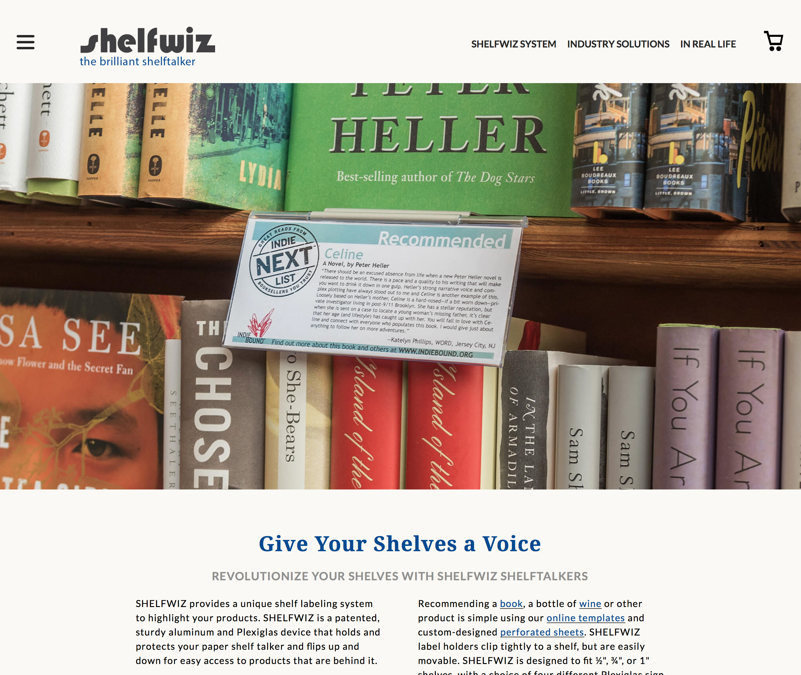 Revolutionize Your Shelves With Shelfwiz Shelftalkers